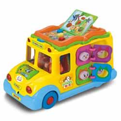 اتوبوس مدرسه آموزشی و موزیکال