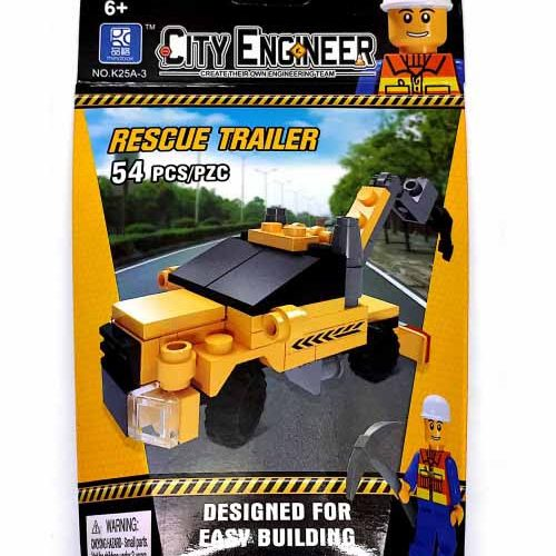 لگو انلایتن سری City Engineer مدل Rescue Trailer