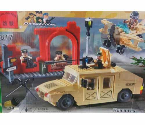لگو انلایتن سری CombatZones مدل Hummers