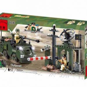 لگو انلایتن سری CombatZones مدل Outpost