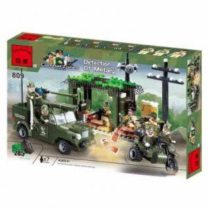 لگو انلایتن سری CombatZones مدل intercept military vehicles