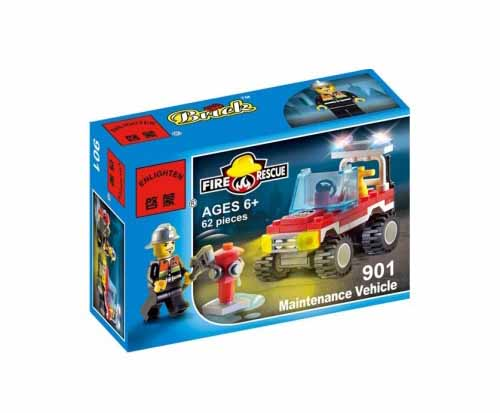 لگو انلایتن سری Fire Rescue مدل Car maintenance