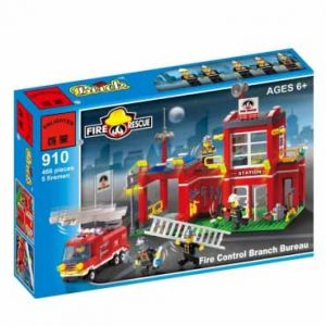 لگو انلایتن سری Fire Rescue مدل Fire Bureau