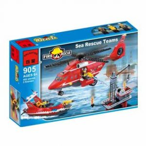 لگو انلایتن سری Fire Rescue مدل air and sea rescue team
