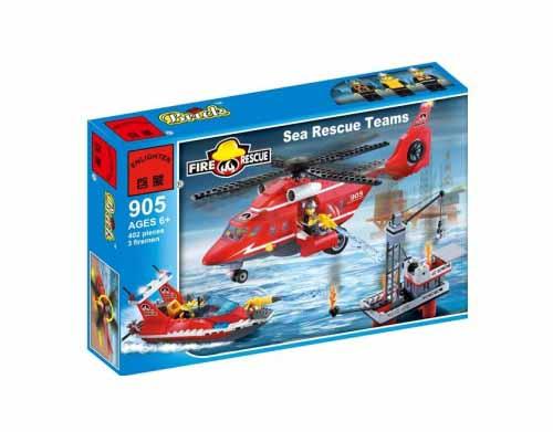 لگو انلایتن سری Fire Rescue مدل air and sea rescue team