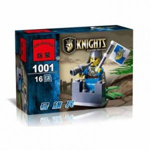 لگو انلایتن سری Knights مدل Flag soldiers