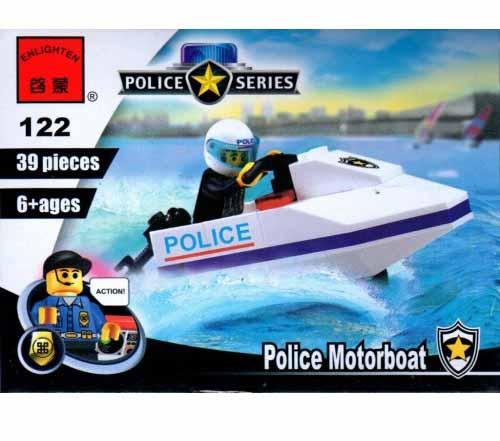 لگو انلایتن سری Police مدل Police Motorboat