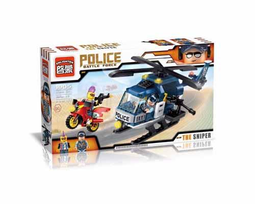 لگو انلایتن سری Police مدل Thunder sniper