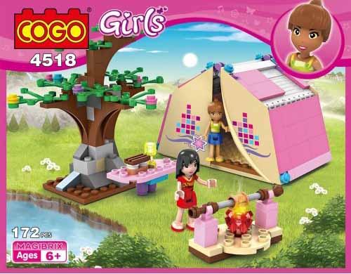 لگو کوگو سری Girls مدل Campers