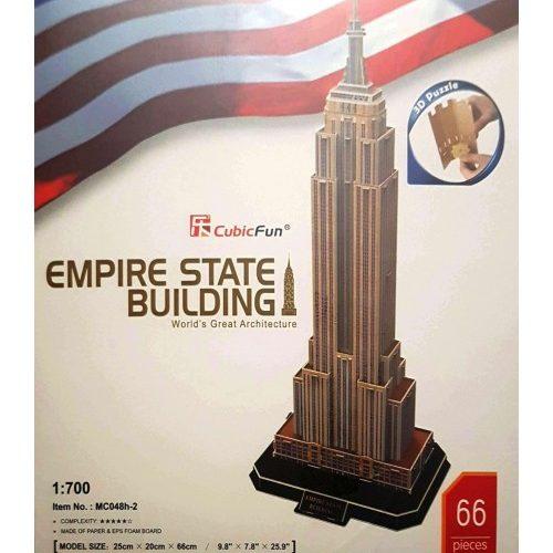 پازل سه بعدی کیوبیک فان مدل ساختمان امپایر استیت