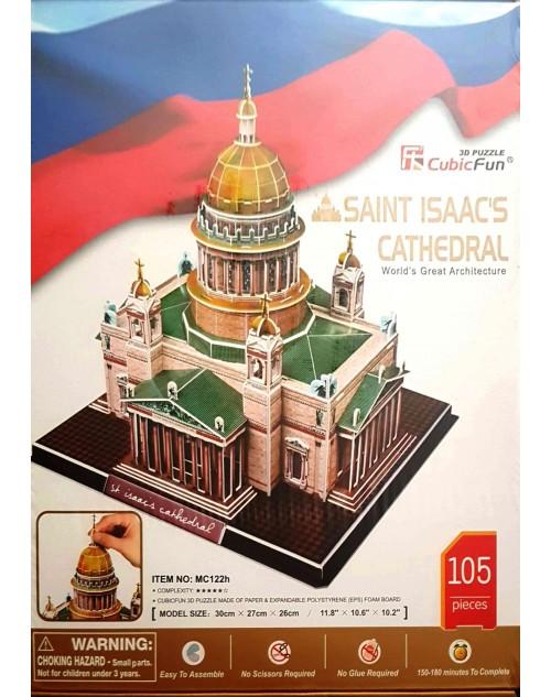 پازل سه بعدی کیوبیک فان مدل کلیسای جامع سنت ایزاک
