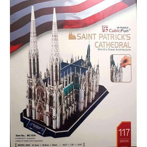 پازل سه بعدی کیوبیک فان مدل کلیسای جامع سنت پاتریک