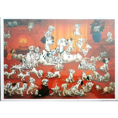 پازل 1000 تکه مدل سگ های بازیگوش