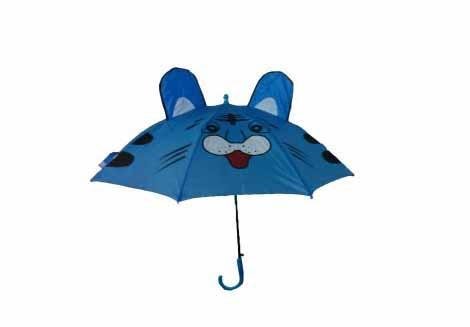 چتر بچه گانه سری برجسته مدل آقا گربه
