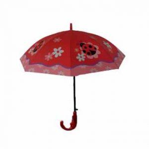 چتر بچه گانه مدل کفشدوزک کوچولو