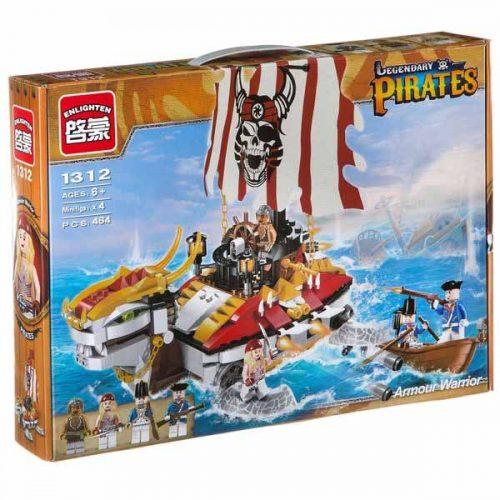 لگو انلایتن سری Pirates مدل Armour Warrior