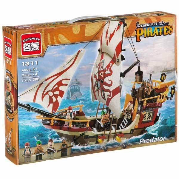 لگو انلایتن سری Pirates مدل predator 1