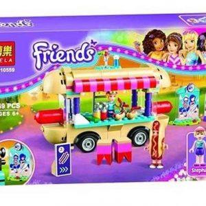 لگو بلا سری Friends مدل Amusement Park Hot Dog Van