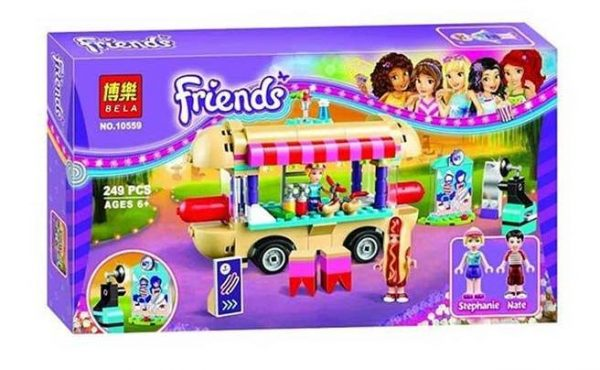 لگو بلا سری Friends مدل Amusement Park Hot Dog Van