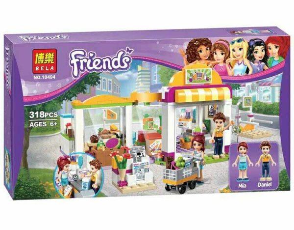لگو بلا سری Friends مدل Heartlake Supermarket
