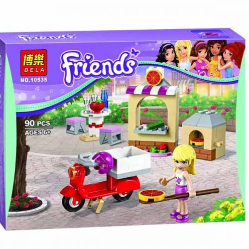لگو بلا سری Friends مدل Stephanie Pizza Shop