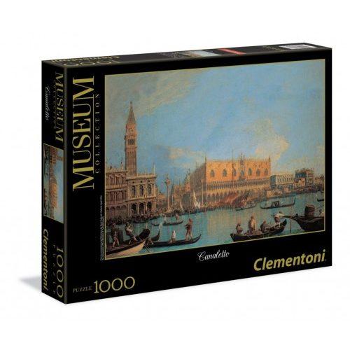 پازل 1000 تکه کلمنتونی سری کانالتو مدل قصر دوک