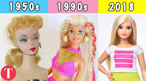 سیر تحول عروسک 1باربی