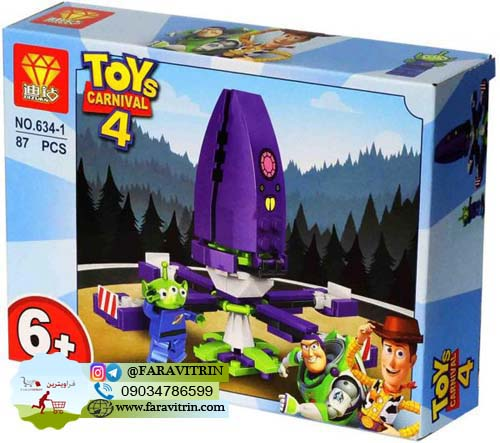 لگو DIZUAN سری داستان اسباب بازی ها مدل 1-634