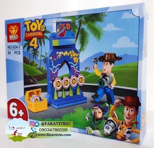 لگو DIZUAN سری داستان اسباب بازی ها مدل 3-634