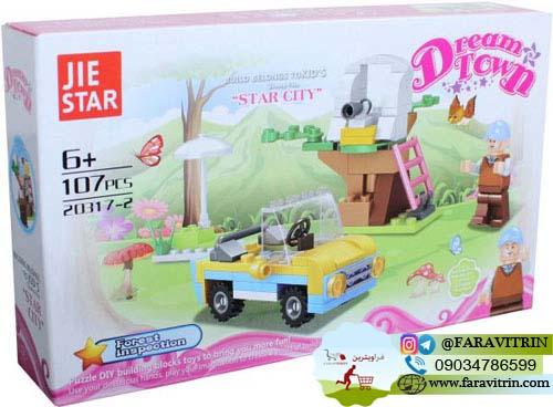 لگو JIE STAR سری DREAM TOWN مدل جستجو در جنگل