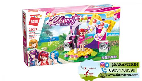لگو QMAN سری Cherry Colorful Holiday مدل استیج رویایی