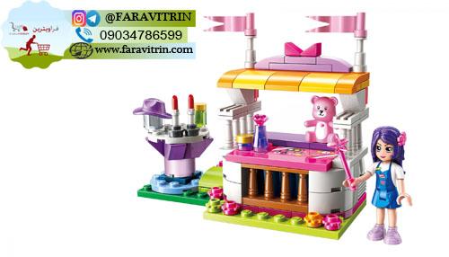 لگو QMAN سری Cherry Colorful Holiday مدل غرفه سوغات شانسی 2