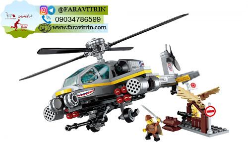 لگو QMAN سری Combat Zones مدل حمله هلیکوپتر آپاچی 2