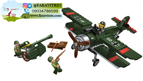 لگو QMAN سری Combat Zones مدل هواپیمای خط شکن 2