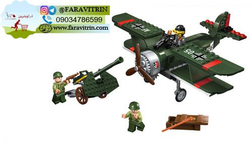 لگو QMAN سری Combat Zones مدل هواپیمای خط شکن 3