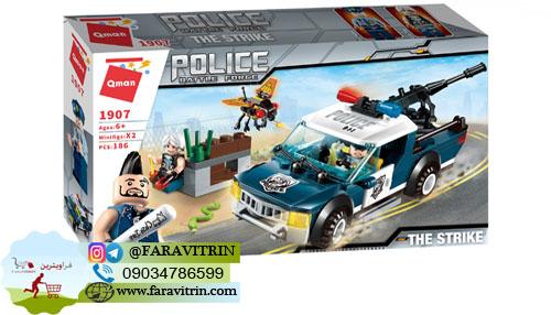 لگو QMAN سری Police مدل اخلال گران